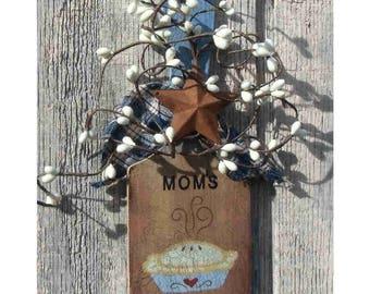 Primitive sm.wooden paddle Mom's Kitchen