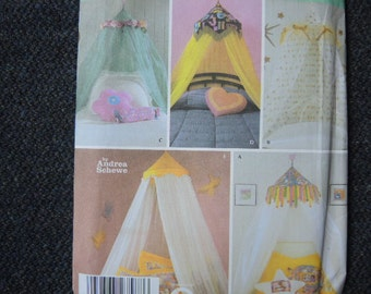 Simplicity sewing pattern 5126 UNCUT bedroom canopy
