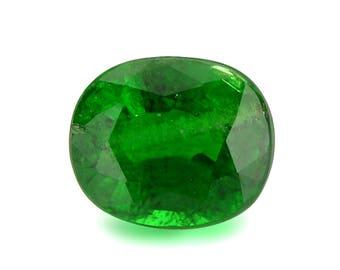 0.72ct Tsavorite Green Garnet Oval Shape Loose Gemstones (Watch Video) Free Shipping SKU 452B002