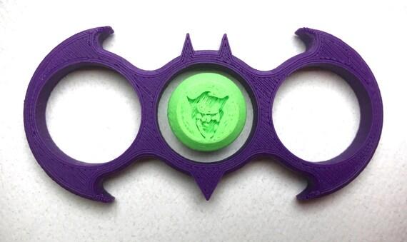 Fandom Caps for Fidget Spinners - Joker - 3D printed toy. ◅