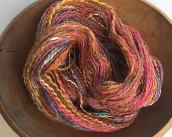 Tango, Handspun Art Yarn,  Worsted, Y203