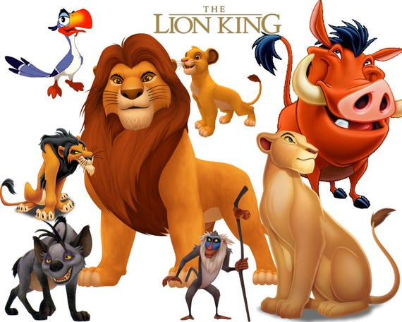 BEST collection of 94 Disney's The LION KING Clipart 94