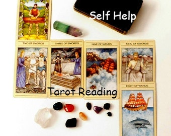 Tarot Reading for Self Help, Tarot Card Reading, Psychic Reading, Same Day Reading by Clairvoyant Empath Life Coach, Life Coaching