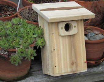 Cedar Bluebird nest box