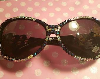 Fairy sunglasses, bling sunglasses, deco sunglasses, fantasy sunglasses, kitsch sunglasses