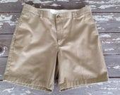 LL BEAN SHORTS-Mens Size 36,Mens Shorts,Khaki Shorts,Vintage Mens Shorts,Preppy Shorts,Traditional Shorts,Kahkis,Nautical Shorts,Tan Shorts