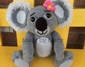 PDF Pattern - Kassie the Koala Amigurumi Pattern **Crochet Pattern only, not actual doll!**