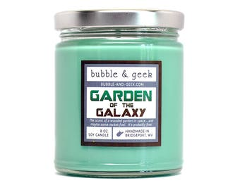 Garden of the Galaxy Scented Soy Candle