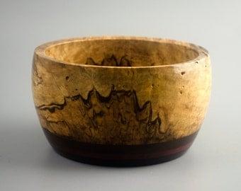 Eye Spy Castles OOAK Handcrafted Segmented Wood Bowl FB6155