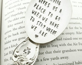 Bookmark, Reading Gives You a Place to Go When you Have to Stay Where You Are, Gift for Book Lover, Gift for Reader, Bookmarks, Readers