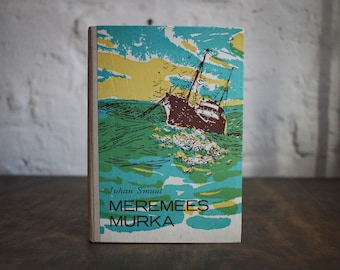 """Hardcover Notebook Tartuensis Classic """"Sailor Murka"""", Fabric Bound Antique Style Diary"""