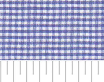 High Quality Fabric Finders Royal Gingham