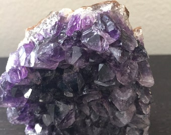 Purple Amethyst Mineral Crystal