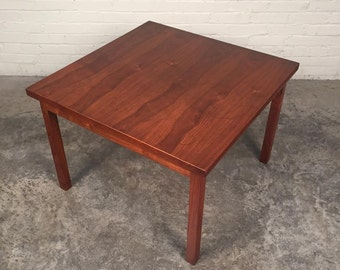 Walnut Mid-Century Modern Coffee / End / Corner Table By Marden MFG ~ Shipping NOT Included
