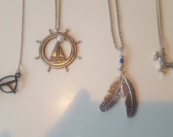 Sweet Charm Necklace Lot