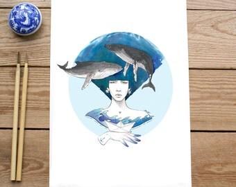 OCEANO- art print- limited edition