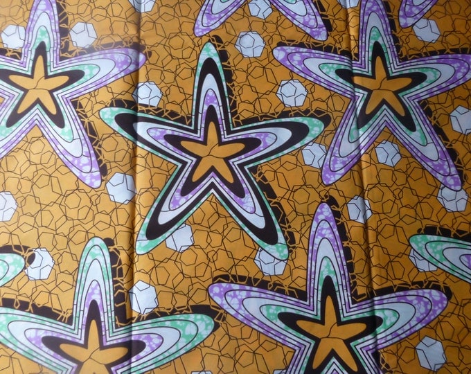 super wax Fabric For Dressmaking and Craft Making/Ankara Print Sold By The Yard