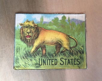 United States as depicted in the biblical End of Days