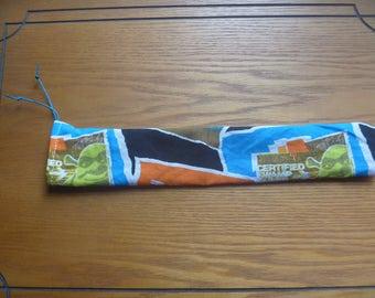 multicoloured chopstick bag, ecofriendly cartoon chopstick bag