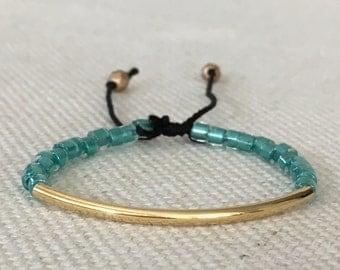 Toddler Bracelet,Girl Bracelet,Jewelry for girls,Infant bracelet,Baby jewelry,Bead bracelet,Mommy and me,Stackable bracelet,Teal bracelet