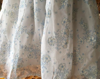 Starched organza and paper nylon flounced petticoat vintage 50's vintage St Michael