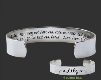 Adopted Daughter Gift | Daughter Gift | Gifts for Daughter | Teen Gifts | Adopted |  Custom Personalized Bracelet | Korena Loves
