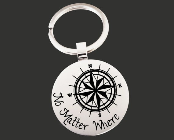 Miss You Gifts | Goodbye Gifts | Going Away Gifts | Missing You Gift | No Matter Where| Compass | Personalized Gifts | Korena Loves