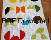 Animal Kingdom Baby Quilt Pattern