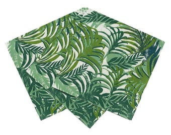 Palm Leaf Paper Napkins