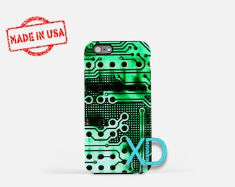 Motherboard iPhone Case, Chip iPhone Case, Motherboard iPhone 8 Case, iPhone 6s Case, iPhone 7 Case, Phone Case, iPhone X Case, SE Case