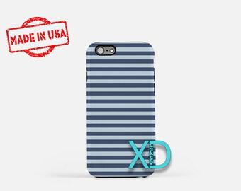 Stripe Phone Case, Stripe iPhone Case, Beach iPhone 7 Case, Blue, Beach iPhone 6 Case, Stripe Tough Case, Clear Case, Ocean, Sea, Water