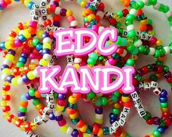EDC Kandi bracelets