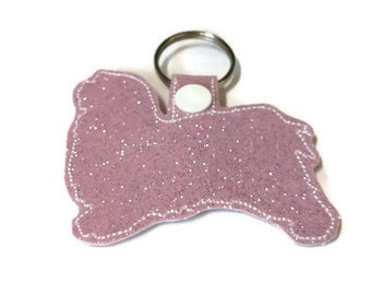 Havanese Key Fob, Havanese Keychain, Havanese keychain, dog mom gift, dog dad gift