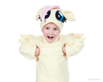 Fluttershy  Costume for kids  My Little Pony children costume for girl boy baby toddler