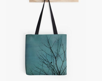 Teal tote bag, teal shopping bag, photo bag, tote bag, teal bag, blue shopping bag, turquoise tote bag, canvas bag,
