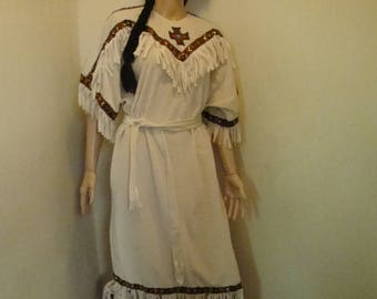 Native American Indian Costume Adult Woman Med-Lg