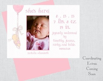 Natalie Birth Announcement