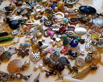Large Selection of Pendants, Charms Etc for Jewellery Making Spares and Repairs