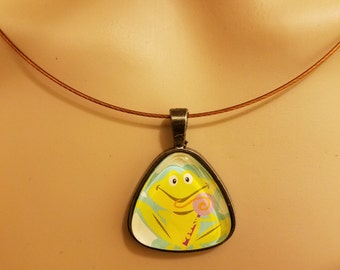 Necklace Frog Pendant
