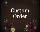 Custom listing for Jessica Waters