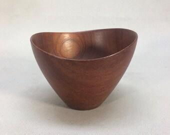 Danish Modern Denmark Teal Bowl by NT 1960's