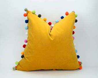 Mustard Cushion Etsy