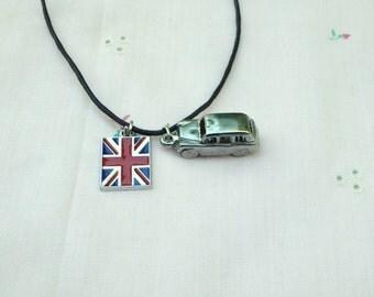 Rolls Royce Necklace / men's jewelry / teen jewelry / boys jewelry / England / souvenir /  women's  Jewelry / jewelry / men