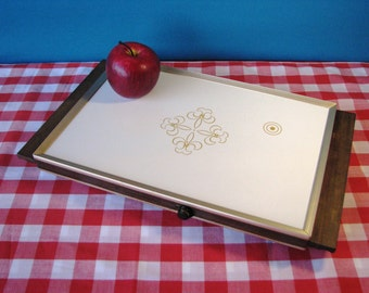 Cornwall Electric Tray - Fleur de Lis - Pristine Condition - Warming Tray - Casserole Size - Model 1101 - Working - Vintage 1970's