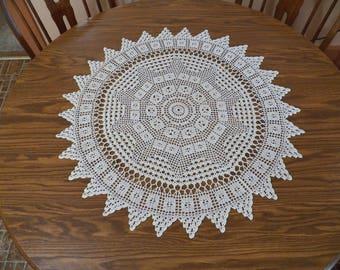 TOCCATA   Handmade Crochet Doilies & Table Runners