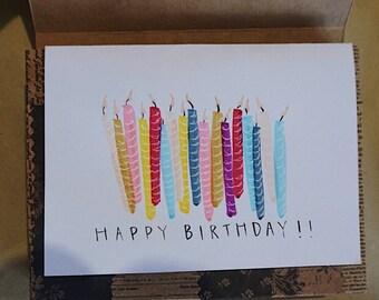 Happy Birthday Stationery Set