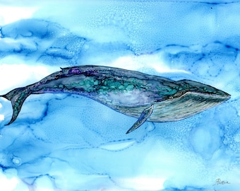 Whale Wall Art blue geometric whale print blue whale wall art whale home