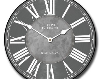 Waterford Gray Wall Clock