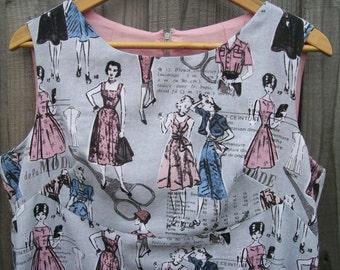 Size 18 Retro 60's Style Dress