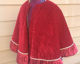 Victorian cape